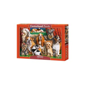 Puzzle Castorland Dog Club 3000 piese