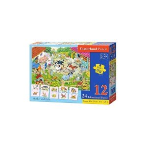 Puzzle Castorland Educativ Mother And Baby