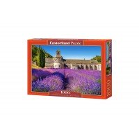 Puzzle Castorland - Lavender Field in Provence, 1000 piese