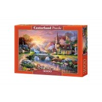 Puzzle Castorland Paceful Reflections 3000 piese