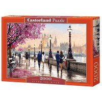 Puzzle Castorland, Along the River, 2000 piese
